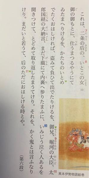 伊勢物語 芥川のこの部分の現代語訳を是非教えて欲しいです! また、解説して頂ければありがたいです!