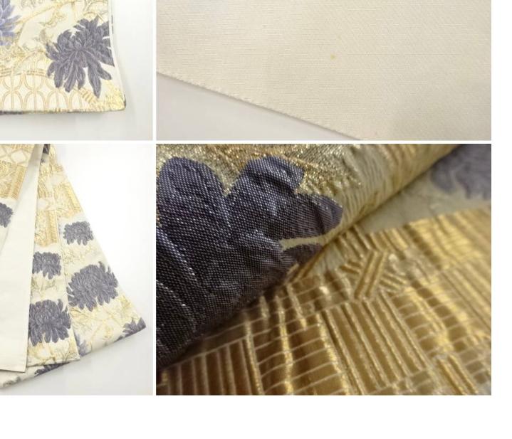 纐纈織というのはカジュアルな帯だと思うのですが、金糸をたくさん使っている纐纈織の袋帯は小紋やお召の色無地には変でしょうか?