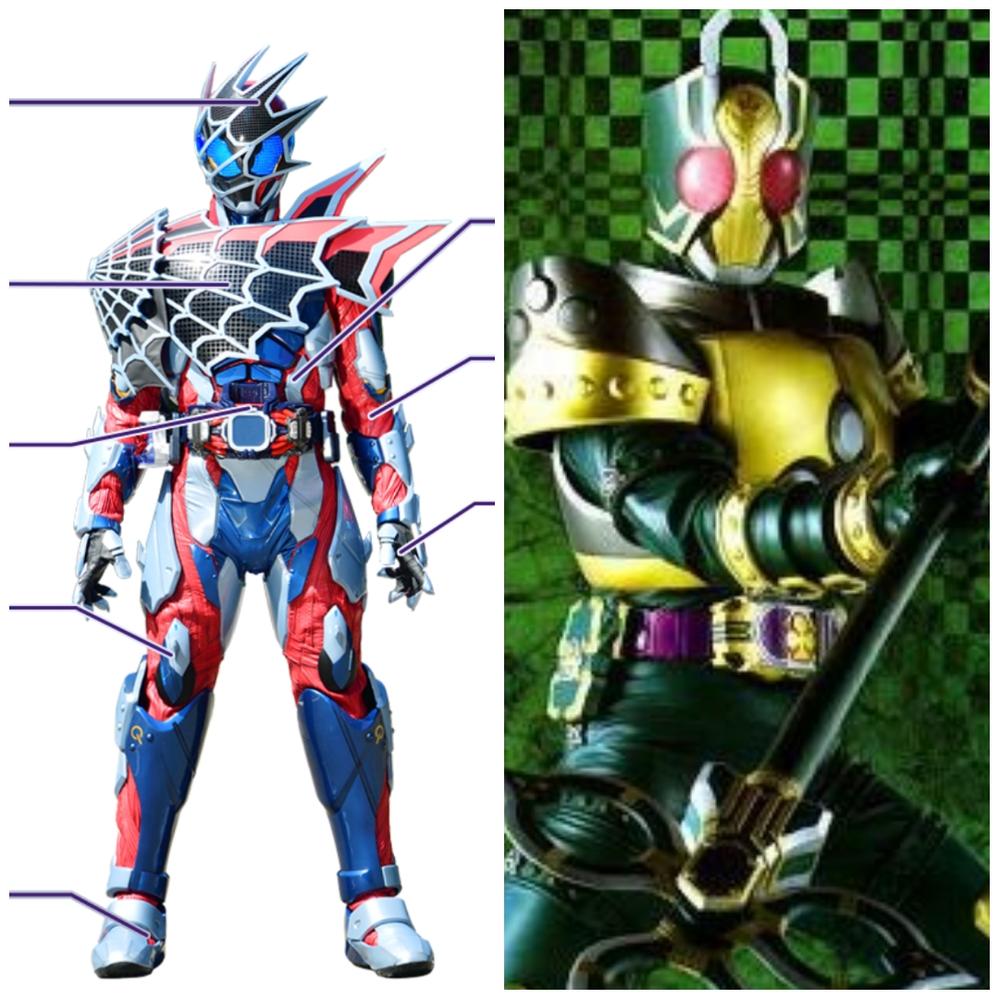 仮面ライダーデモンズ、仮面ライダーレンゲルに続く二人目のクモの仮面ライダーですが、この二人ならどっちが好きですか?