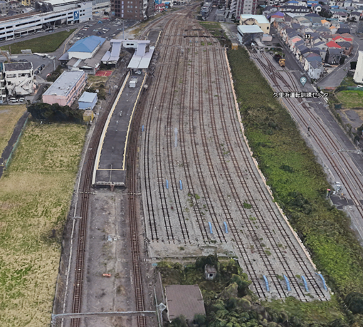 久里浜駅の横には、大量の留置線?がありますが、これらは日常的に使われていますか?