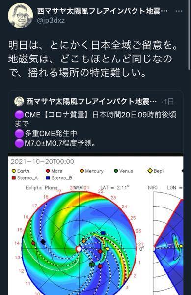 地磁気って自信に関連するんですか?