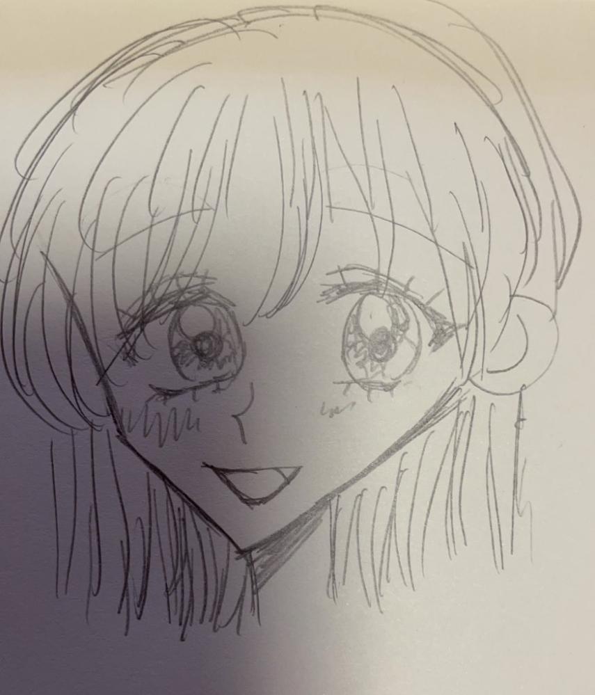 わたしの絵は上手いですか? 中学一年生です。 絵を描くことがしゅみです!! 学校でよく描いています このまえ学校で絵を描いていたらクラスメイトの人に下手だねと言われました。 悲しいです そこで私の絵を評価して欲しいと思いました 上手いですか? 上手くなければ どこがおかしいですか?教えてください! 正直に教えてください!!