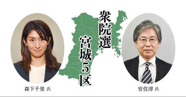 (衆議院選挙)立憲民主党の安住淳候補者は、小選挙区だけで勝負するのですか?比例代表には出ないのですか?