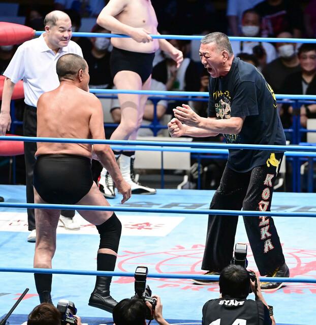 藤原喜明(82)のファンですが、彼は今も現役ですが、総合格闘技のリングに上がらないですか? 今も衰えて、無いですよね?
