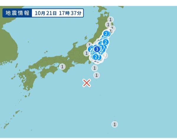 今年異常震域多くないですか? 特に珍しいことでもないのでしょうか?