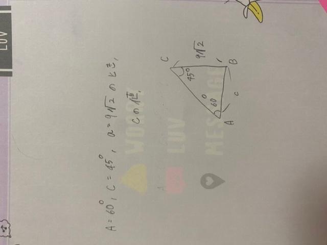 数学わかる方教えて下さい。 正弦定理です。 全く分からないです。