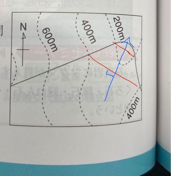 ↓この地層の傾斜はなぜNと表されるのですか? (問・この地層面の傾斜の方向はどちらか。選択肢NESW・正解はN) この選択肢の中で最も近い物を選べということでしょうか。 下の書き込みのように考えると北北東が最も適切だと思うのですが・・・