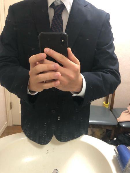 これから塾のバイトあるんですけど、ネクタイの締め方これであってますか?