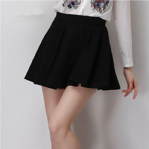 黒いスカートは好きですか?