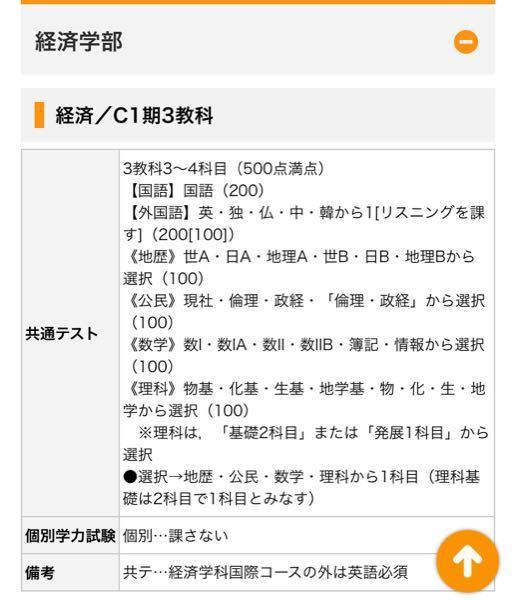 日本大学の共通利用入試の科目なんですが、これは国語は現代文・古文・漢文全部あるってことでいいんですか?