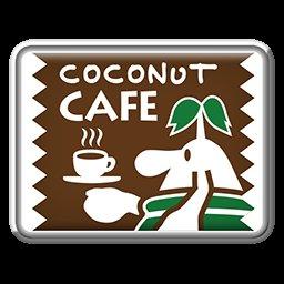 マリオカートツアーで手に入るこのバッジの絵は何でしょうか? マリオとこのカフェはどう関係していますか? コラボとかじゃないですよね? ココナッツカフェや謎のキャラクターは一体何なのか詳しい方教えてください。