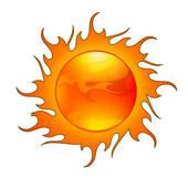 太陽といったら何色のイメージを思い浮かびますか?