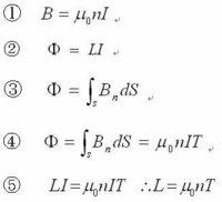 無限長円筒形ソレノイドコイルにおける単位長の自己インダクタンス算出について 資格取得に向け、電磁気分野を勉強中です。 が、自分の解釈が間違っているようで答えが一致しませんのでご助言を頂ければと思い...