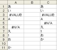 Microsoft Excelで、空白セルのみを詰めて別の行に書き出すことは出来ますか? 下の画像の様に、文字列・数字・エラーなどは全てそのままで、空白セルだけを詰めたいのです。どうしたらいいでしょうか?