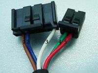 ETC車載器連動ケーブルの配線色 ☆現在ナビ(SANYO製のHDD)とETC車載器(三菱 EP-407)をケーブル(SANYO NVP-EC30)で連動させています。   今回、車両移動のため、上記ETC車載器を別のナビと連動させることになった...