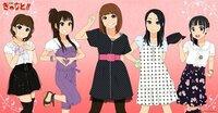 下の画像は拾い物なんですが、左から佐藤聡美さん、日笠陽子さん、豊崎愛生さん、寿美菜子さん、竹達彩奈さん、で合ってますか?