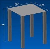 耐荷重について 下図のような机があるんですが、上板の耐荷重計算の方法を教えてください  材質は上板がSECCの厚み3mmで足部は□50の角パイプです  よろしくお願いいたします。