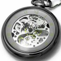 懐中時計を購入しようと思います。 そして見た目が気に入って言うということでBROWN ブラウン 懐中時計 手巻式 両面スケルトン 925-GM-SV -を購入しようかと思っています。 個人的にブラックが好きなのでこうい...