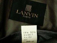 メンズアパレルに強い方(><) LANVINのコートサイズ「R48-45」を解読願います! 紳士物 服飾関係(MEN'S Apparel)に精通する方にお伺いさせて下さい。  紳士物のランバン パリのコートのサイズの解釈が解り...