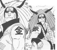 NARUTOのアニメの事で質問です。 金角・銀角兄弟がアニメに登場するのは第何話ですか? 回答お願いします!