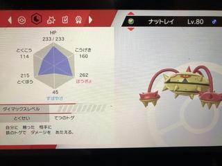 ナットレイ 盾 ポケモン 剣